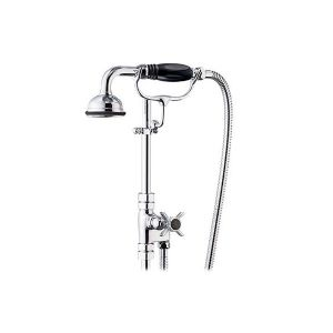 St James 18mm Diverter Valve with Hose & Handshower on Cradle - SJK680-EHBK